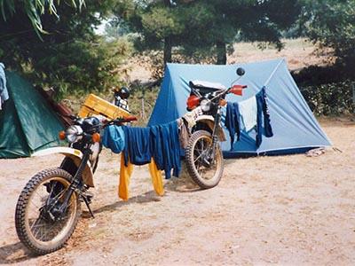 Campingplatz auf Chalkidiki